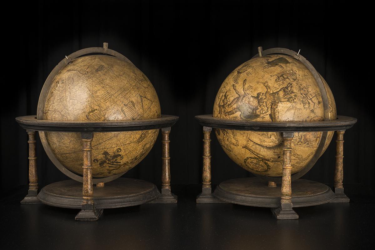 Les globes de Mercator